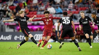 Bayern'e Frankfurt şoku!