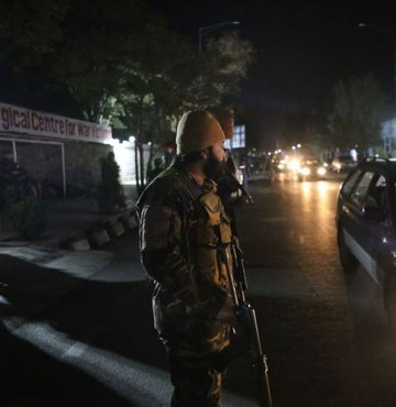 Taliban Sözcüsü Zabihullah Mücahid, Afganistan
