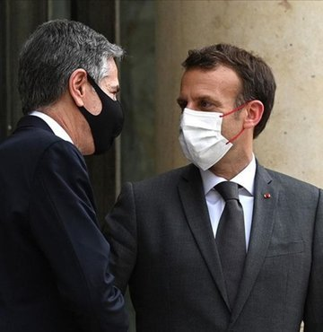 Fransa Cumhurbaşkanı EmmanuelMacron, başkent Paris