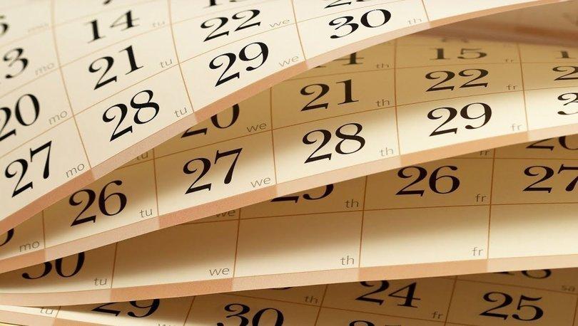 2022 Resmi tatiller takvimi: 2022 yılında kaç gün tatil yapacağız? 2022 Resmi ve dini tatil günleri tablosu