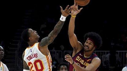 Cleveland, Hawks'ı deplasmanda yendi