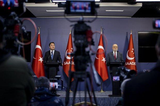 Karamollaoğlu ile Babacan görüştü