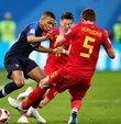 UEFA Uluslar Ligi Yarı Final maçında Belçika ile Fransa bu akşam karşı karşıya gelecek. Finalde İspanya