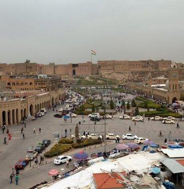 Irak Kürt bölgesel yönetiminin başkenti Erbil
