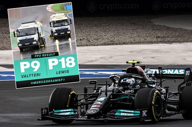 Mercedes'in paylaşımına büyük ilgi!
