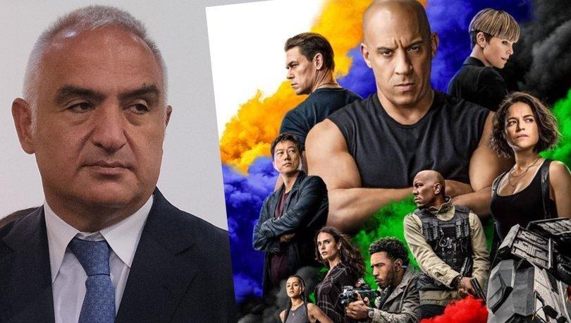 Kültür ve Turizm Bakanı Mehmet Nuri Ersoy: 'Hızlı ve Öfkeli' filmini Türkiye'de çekmek istiyorlar