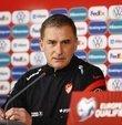 A Milli Futbol Takımı Teknik Direktörü Stefan Kuntz, Letonya maçını kazanmak ve grup ikinciliği için mücadele etmek istediklerini söyledi.