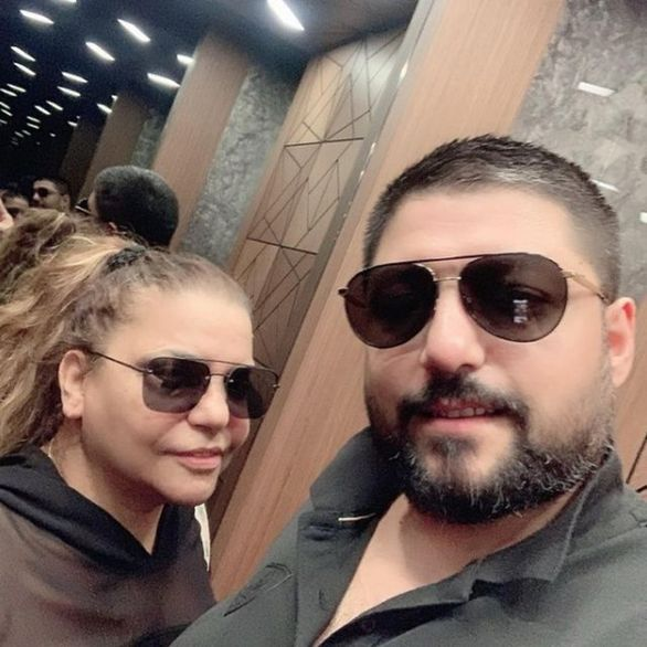 Kibariye ile eşi Ali Küçükbalçık