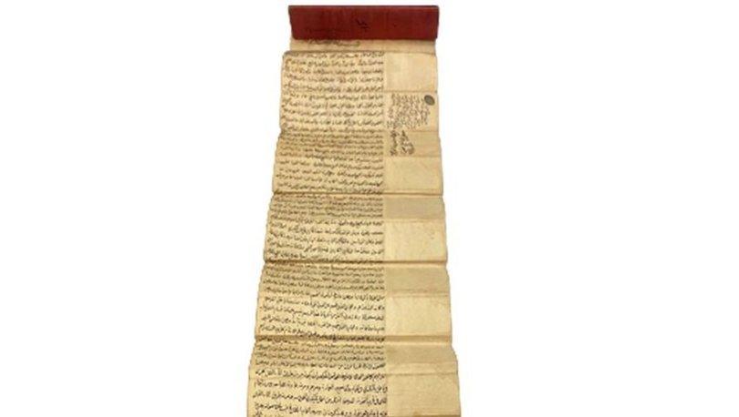 Fatih Sultan Mehmed'in fermanı Londra'da satışta