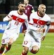 2022 FIFA Dünya Kupası Avrupa Elemeleri G Grubu sekizinci maçında dün konuk olduğu Letonya