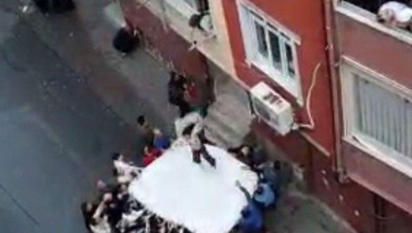 YANGIN! Esenler'de elektrik saatleri alev aldı, 2 kişi yaralandı! - Haberler