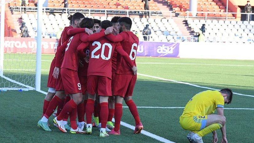 Kazakistan: 0 - Türkiye: 1 MAÇ SONUCU