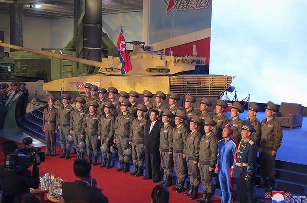 Kuzey Kore'de olay yaratan şov!
