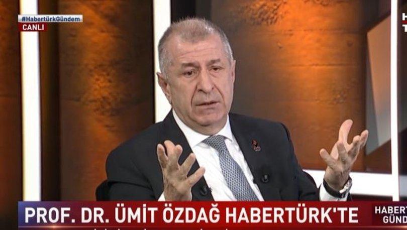 Zafer Partisi Genel Başkanı Ümit Özdağ: 3 gün önce suikast bilgisi aldım
