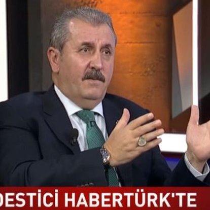 BBP Genel Başkanı Mustafa Destici, seçim barajının sıfır olması gerektiğini söyledi