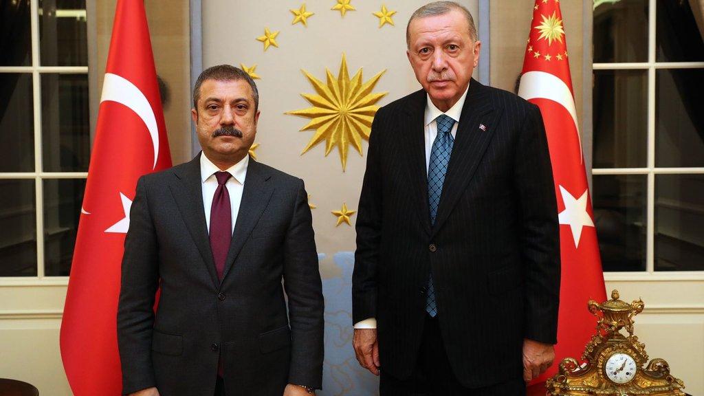 Cumhurbaşkanı Erdoğan Kavcıoğlu'nu kabul etti