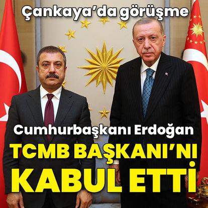 Son dakika haberi Cumhurbaşkanı Erdoğan Kavcıoğlu'nu kabul etti