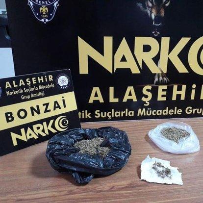 Manisa'da uyuşturucu operasyonu: 3 gözaltı