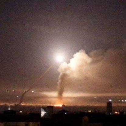 Şam rejimi, İsrail'in Suriye'ye hava saldırısında bulunduğunu açıkladı