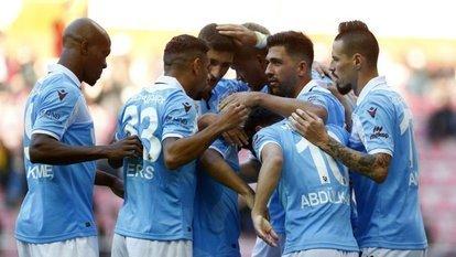 Trabzonspor'un hedefi 10 maçlık seri