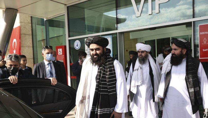 SON DAKİKA HABERLER! Taliban heyeti Türkiye'ye geldi!