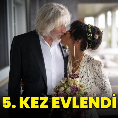 78 yaşında 5. kez evlendi