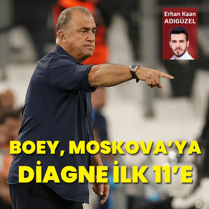 Boey Moskova'ya Diagne 11'e