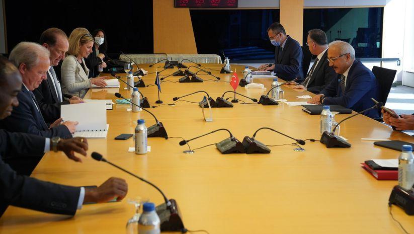 Bakan Elvan Dünya Bankası Başkanı'yla görüştü
