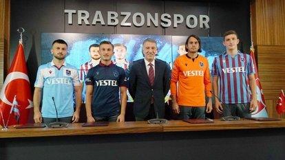 Trabzonspor 4 ismin kontratını uzattı
