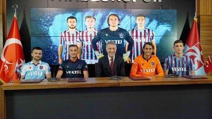Trabzonspor'da dört imza birden!