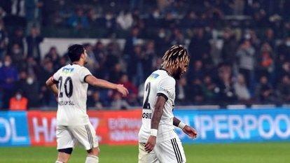 Beşiktaş ikinci kez yenildi