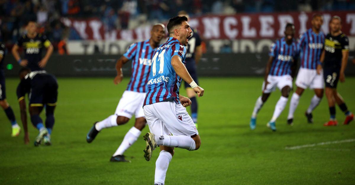 Yeni lider Trabzon!