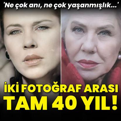 İki fotoğraf arası tam 40 yıl!