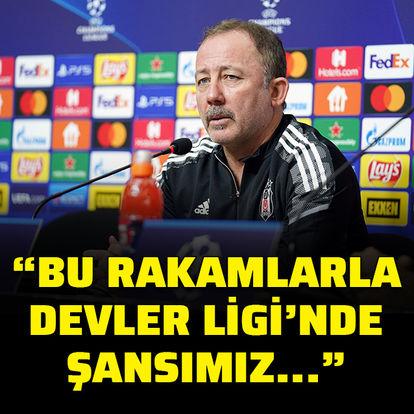Türkiye'deki istatistiklerle, Şampiyonlar Ligi'nde zaten şansımız olmaz