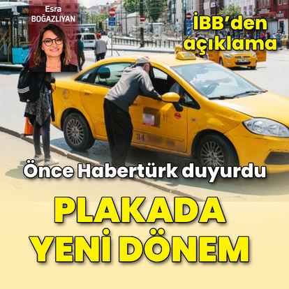 Binlerce ortak var! İBB'nin yeni taksi planı ne?