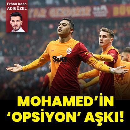 Mohamed'in 'opsiyon' aşkı!