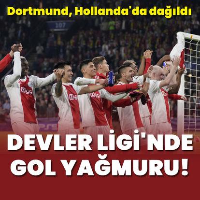 Ajax, Dortmund'u 4'ledi!