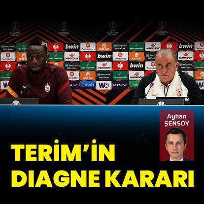 Terim'den Diagne kararı!