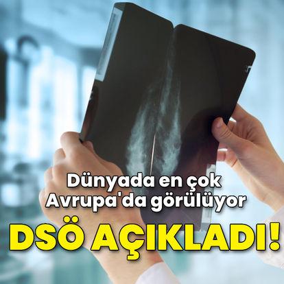 DSÖ açıkladı! Meme kanseri en çok Avrupa'da görülüyor
