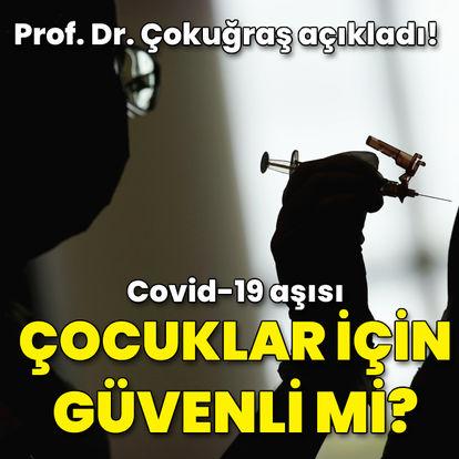 Covid-19 aşısı çocuklar için güvenli mi?