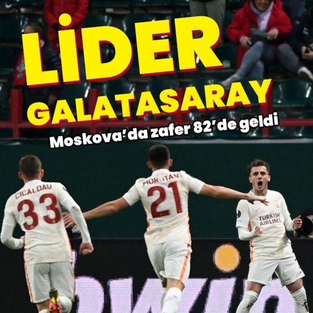 Galatasaray, Moskovayı da devirdi