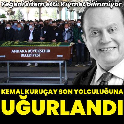 Kemal Kuruçay son yolculuğuna uğurlandı