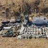 Hakkari'de teröristlere ait cephanelik bulundu