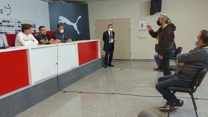 Montella, Sivas'ta basından tepki