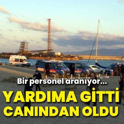Marmara Denizi'nde bot alabora oldu: 1 ölü, 1 kayıp