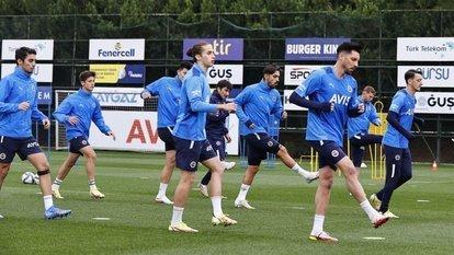 Fenerbahçe'de Konyaspor hazırlıkları