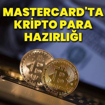 Mastercard'tan kripto para hamlesi