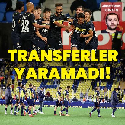 Transferler yaramadı!