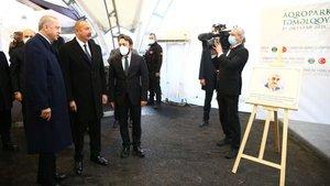 Cumhurbaşkanı Erdoğan ve Aliyev Bayraktar'ı yad etti