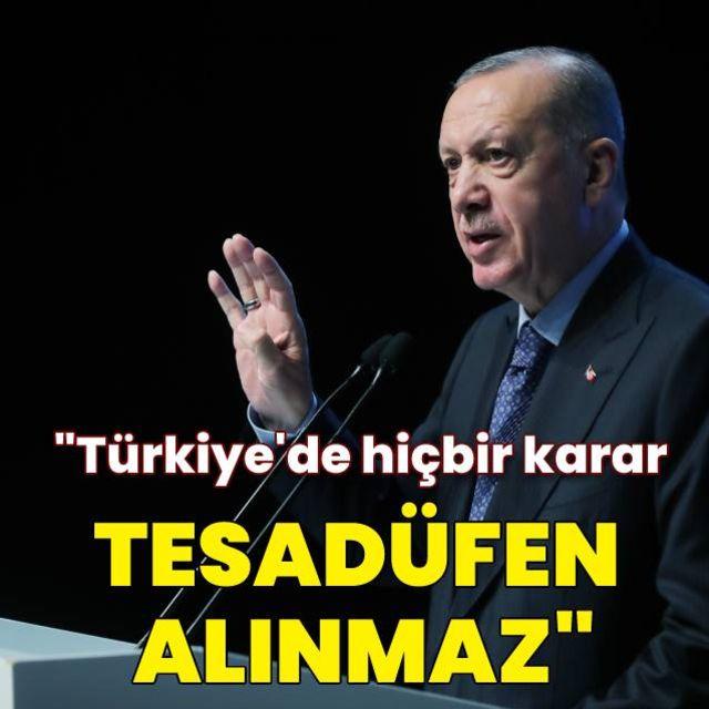 Cumhurbaşkanı Erdoğandan kritik açıklama